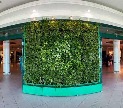 دیوار سبز آپارتمانی شرکت گل آويز almas shargh