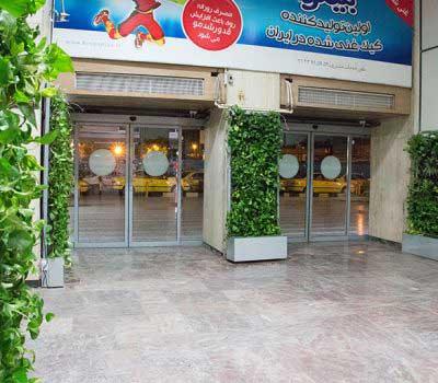 دیوار سبز آپارتمانی شرکت گل آويز rai